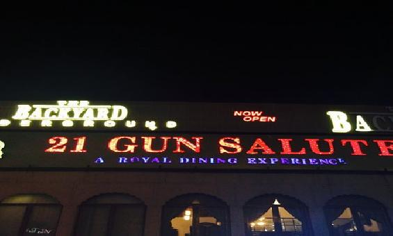 21 Gun Salute Restaurant & Bar