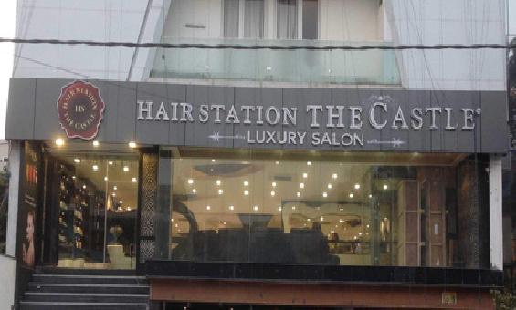 Hair Station The Castle Luxury Salon Ashok Vihar