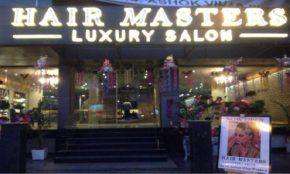 HAIR MASTERS LUXURY SALON, ASHOK VIHAR DELHI