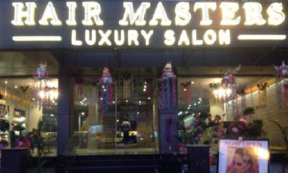 HAIR MASTERS LUXURY SALON PUNJABI BAGH DELHI